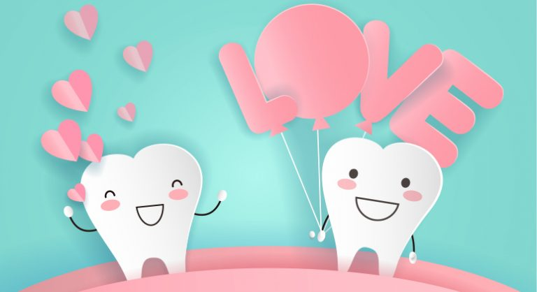 show your teeth some love this Valentine's